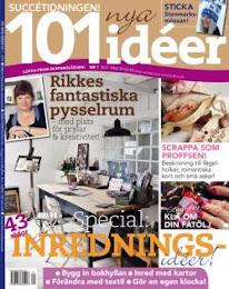 101 ideer 2011 rikkes arbsrum och Lisbeth hammers hem