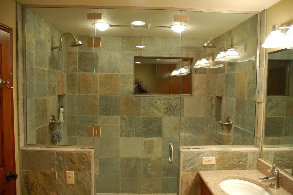 Slate Bathroom Tiles Design Ideas