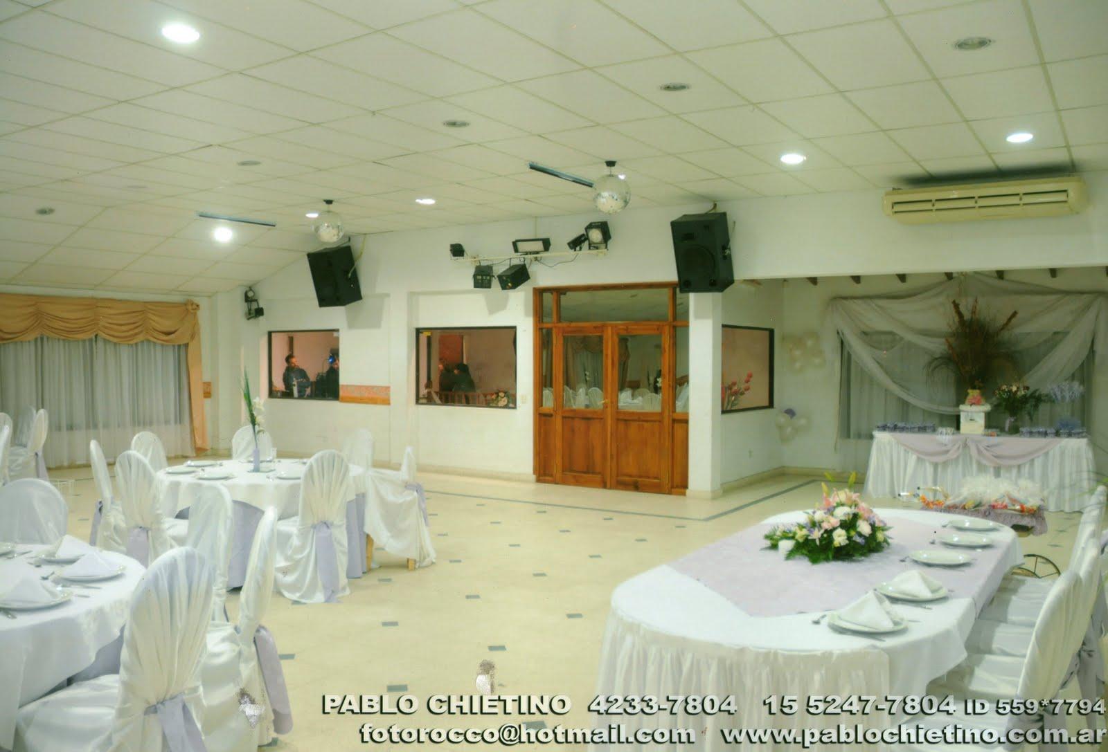Sociedad de fomento j a castelli salon de eventos - Iluminacion en salones ...