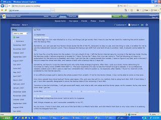 MSN space Blog