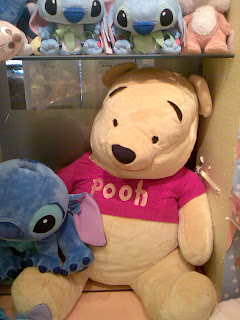One giant Pooh bear ever known.