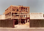 Contrucción del edificio nuevo de la escuela