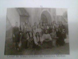 Corul de femei al bisericii ortodoxe.