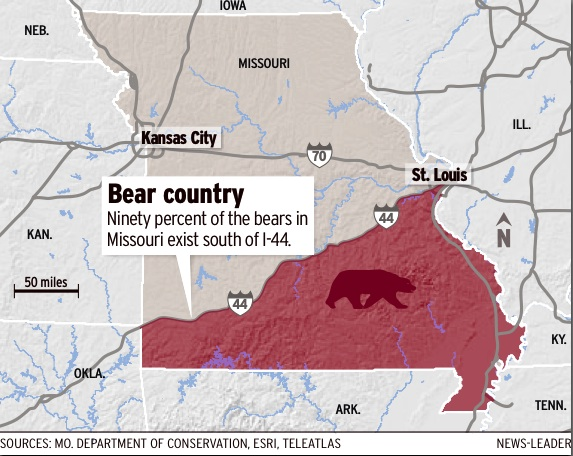 Springfield Plateau Bear Tracking In The Ozarks