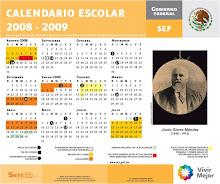 Calendrier Scolaire - Mexique