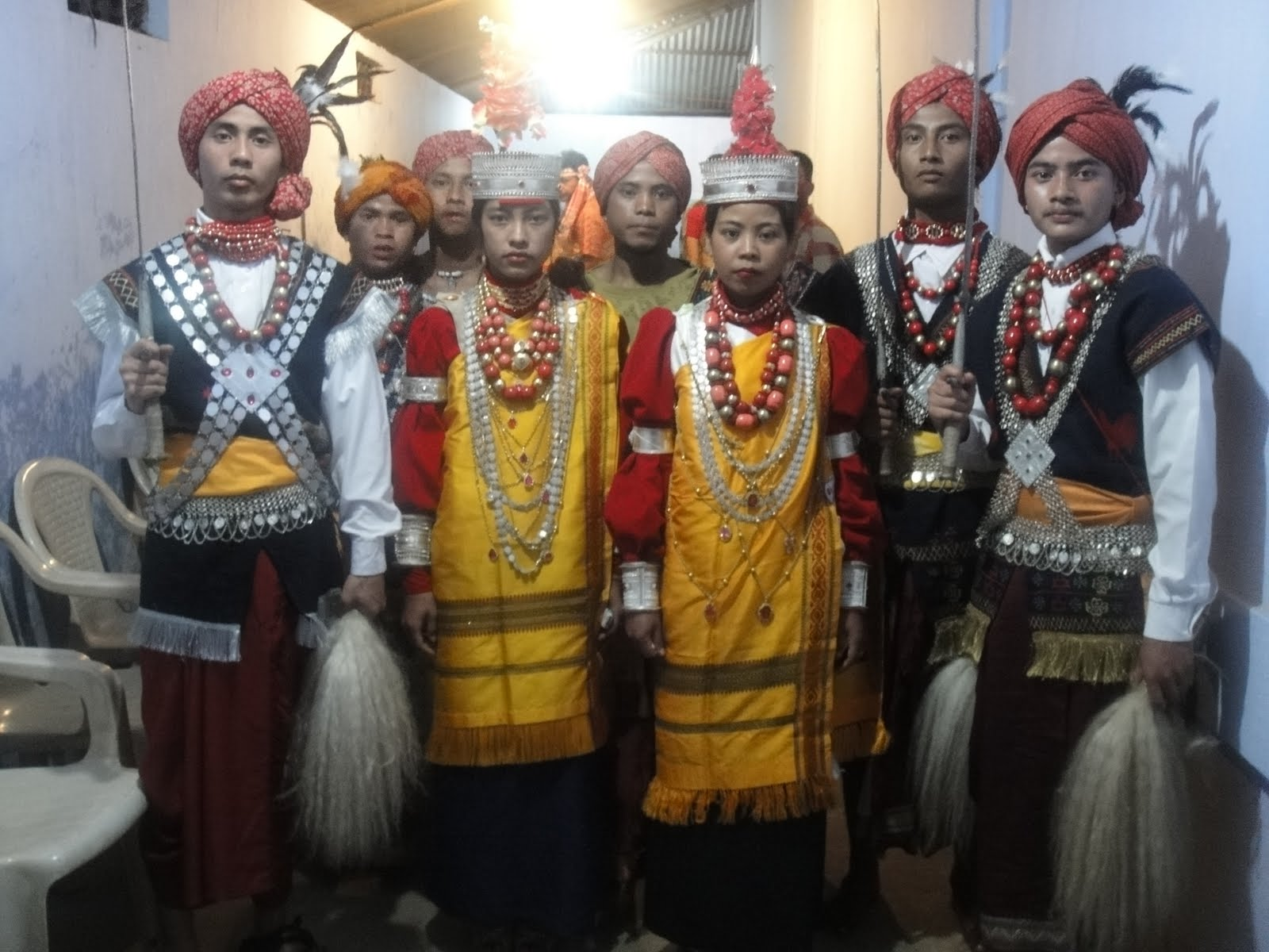 Dress In Assam State