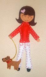 Lucia y su perrito