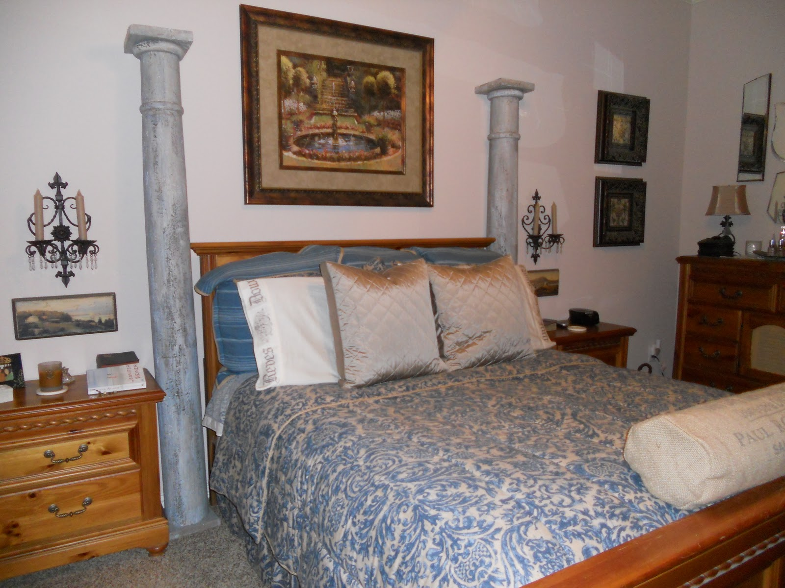 Southern Charm Cottage Changes In The Master Bedroom