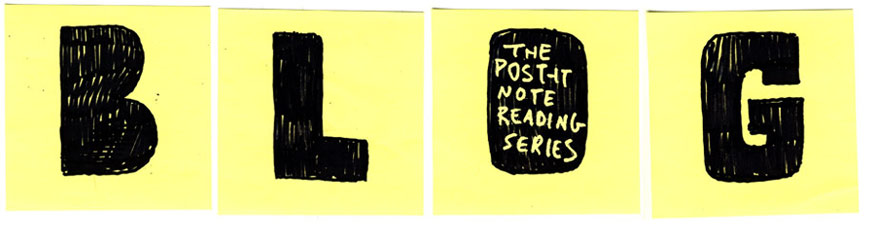 Post-it Note Reading Series