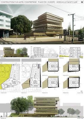 Julie clement architecte - Planche concours architecture ...