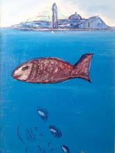 il pesce rosso a san giorgio venezia