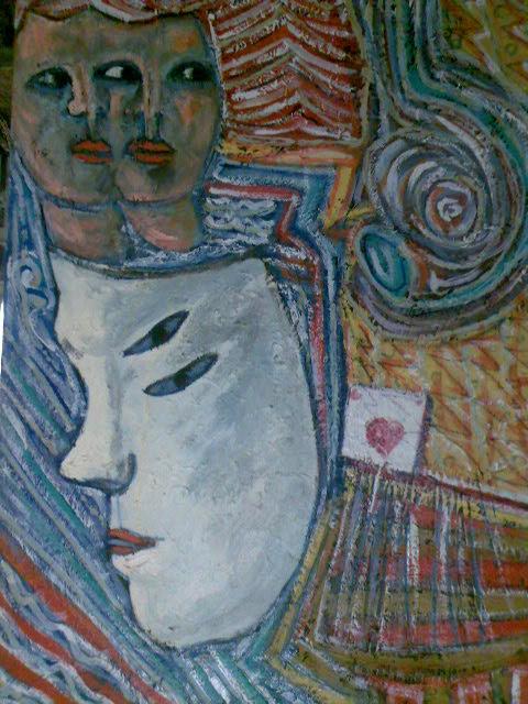 la maschera del no teatro giapponese