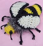 My crocheted honey bee