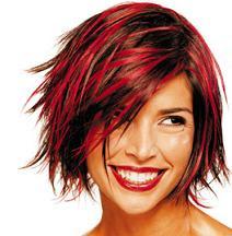 Más de 1000 ideas sobre Cabello Con Reflejos Rojos en Pinterest  - Peinados Con Mechas Rojas