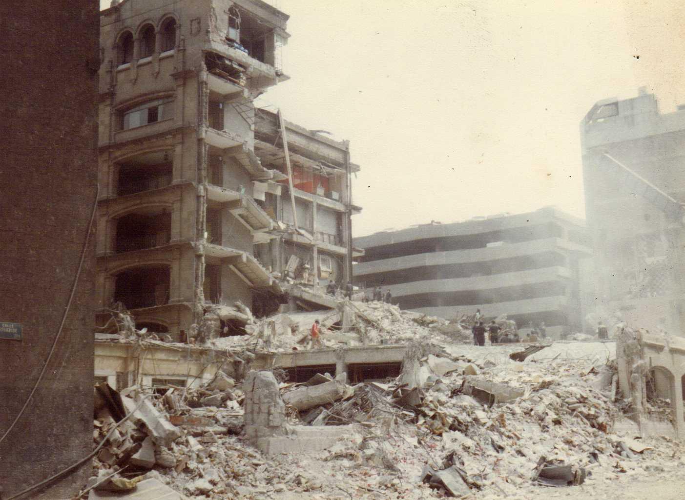 Resultado de imagen para sismo de 1985