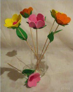 Segue Um Molde Para Fazer Flores Em EVA  Uma   Tima Dica Para