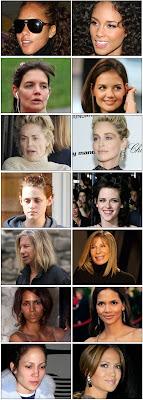 atrizes sem maquiagem