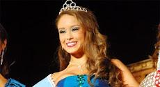 elegida Reina de la Feria de Cochabamba Diana Verduguez