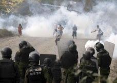 la batalla duró varias horas y se libró al menos en cinco sitios diferentes con dos muertos