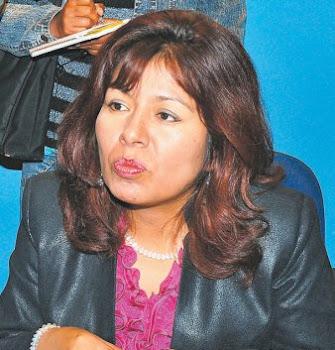 Sonia Polo ministra de salud pretendió disculparse ante la ciudadanía