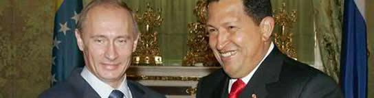 sabido es que Chávez en su paranoria se siente atacado por el imperio y se arma