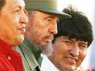 cuarta reunión en un mismo mes con Chávez. porqué tanto?