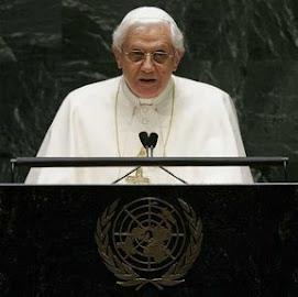 el Papa se dirige a millones de televidentes en la ONU