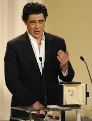 benicio del toro, actor portorriqueño que interpreta al Che