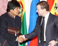 """""""un indio como yo, no merece éste recibimiento"""" habría pensado Evo"""