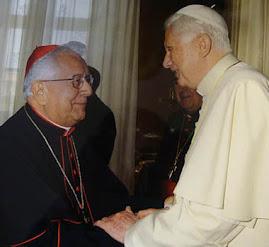 horas ha el papa Benedicto XVI recibió al Cardenal Julio de Bolivia en el Vaticano