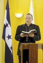 el cardenal de Honduras Oscar Rodríguez