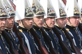 nueva foto de cadetes chilenos que harán maniobras frente a Perú