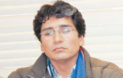 el gobernador masista de Potosí Félix Gonzáles...
