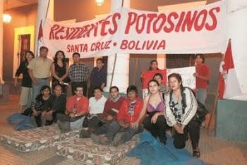 también en Santa Cruz, como en Cochabamba, como en La Paz, como en Sucre por todas partes