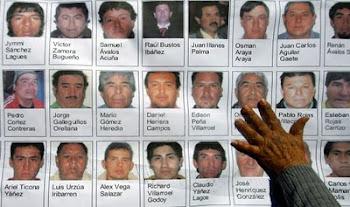 galería de los 33 mineros cuya vida está a salvo luego de permanecer en la mina