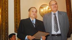 dintinguido por el Club Social el periodista Federico Sabat