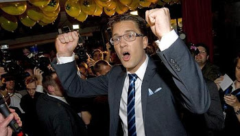 el líder del partido Suecia Democrática que considera un serio peligro de los inmigrantes