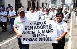 poco a poco va creciendo el descontento y el gobierno echará mano de la represión