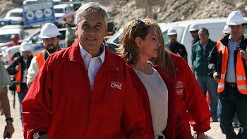 la prensa no se equivoca con Piñera. ha sido su tosudez, constancia y fe que salvó la vida de 33...