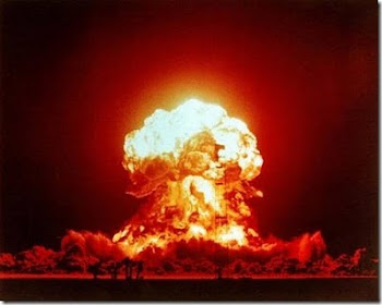 nada menos que energía atómica...cuando le preguntan porqué, para qué Evo dice: