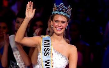 contra toda esperanza China elige a USA como Miss Mundo. tiene 18 años y es estudiante