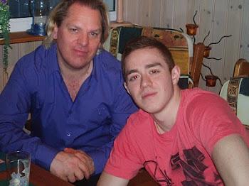 en la imagen Thomas mi yerno y Kristofer mi nieto