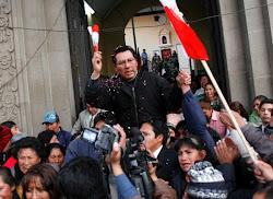 el MAS ha convertido a Joaquino en un héroe al pretender enviarle a la cárcel sin culpa alguna