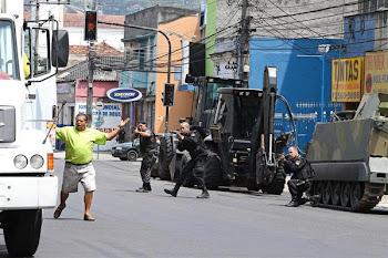 lo que se vió por las calles de Rio será de no olvidar