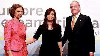 desde B.A. sede de la Cumbre Iberoamericana el Rey Juan Carlos ha firmado la Orden Real