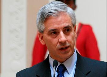 con un tono de voz melíflua el vice García Linera ha declarado