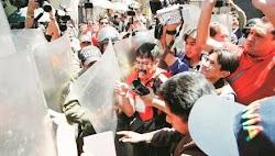 nueva batalla habrán de librar los periodistas enfrentados a la policía