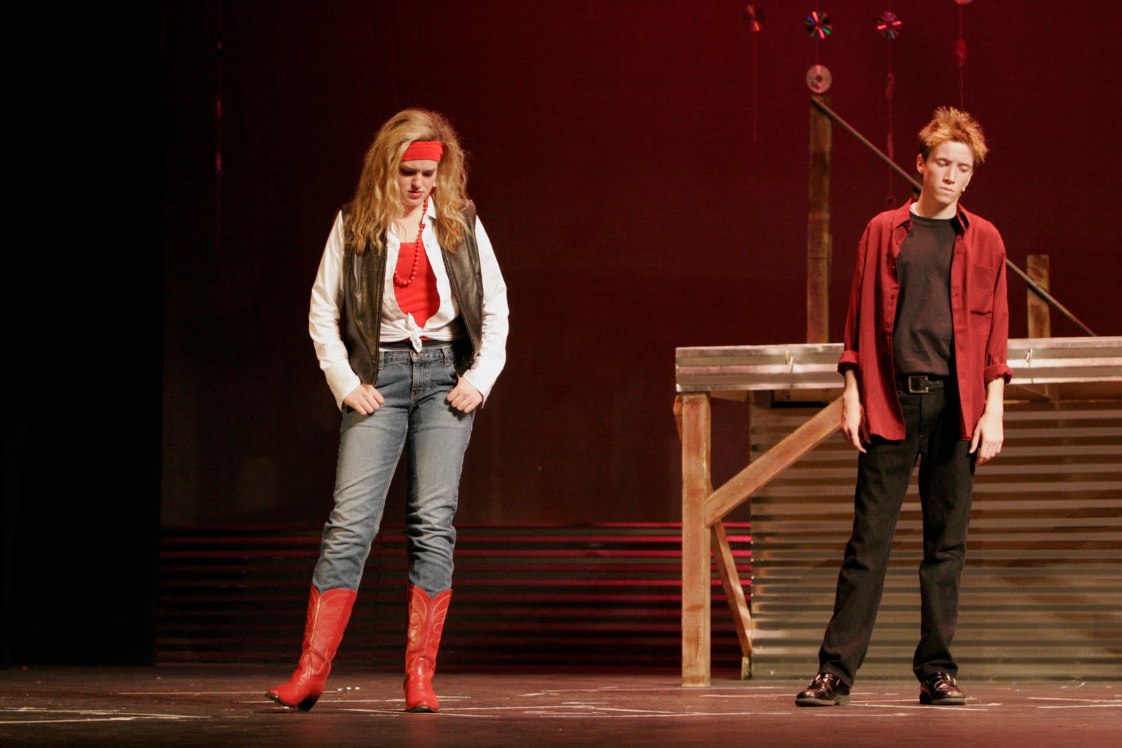Highland Theatre Footloose Costumes