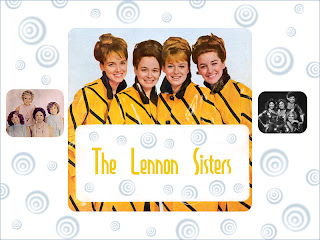 Lennon Sisters Wallpaper, swirls
