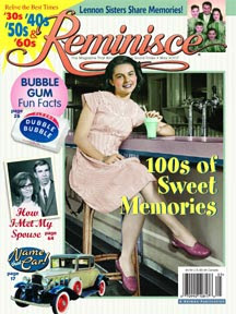 Reminisce magazine cover, April May 2007 issue